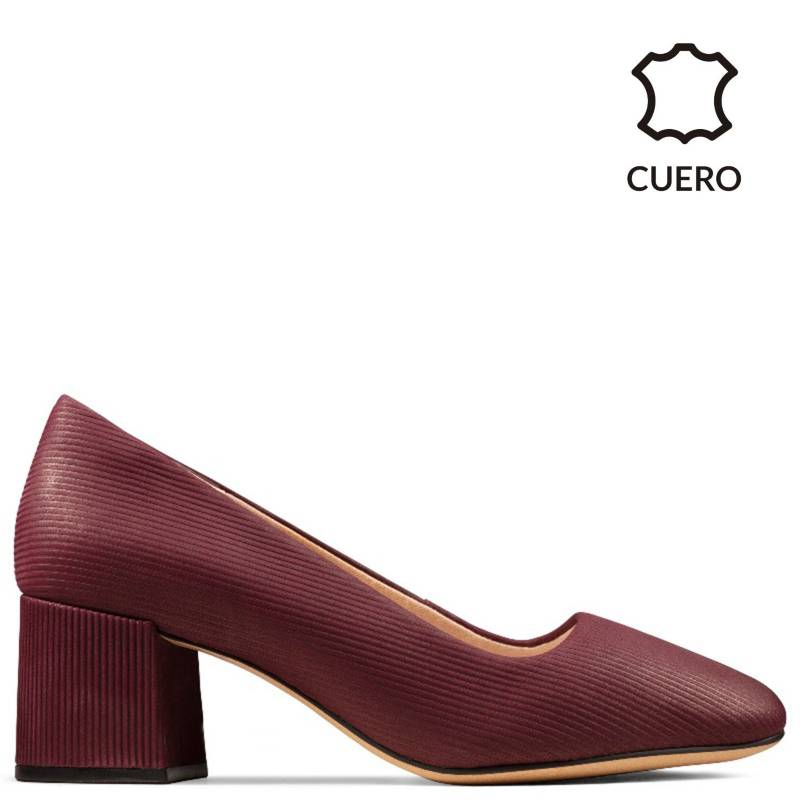 CLARKS - Zapatos Sheer Rose Burgund