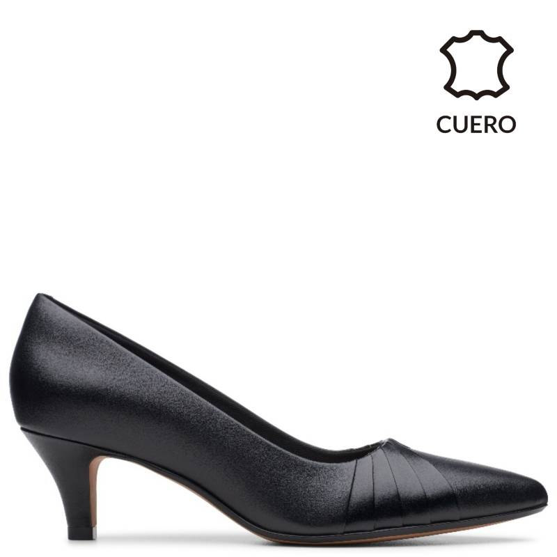 CLARKS - Zapatos Linvale Crown Negro