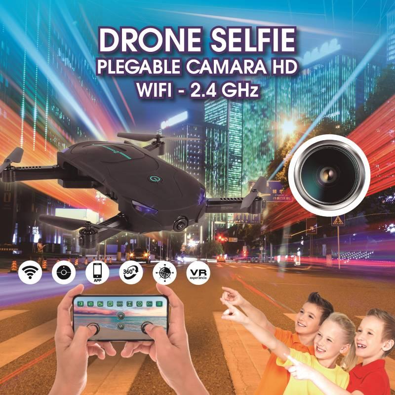 Moontop - Drone con Cámara para Selfies HD WiFi