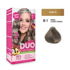 DUO COLOR - Duo Tinte 8-1 Rubio Claro Ceniz