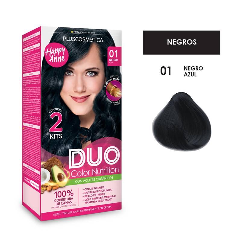 DUO COLOR - Duo Tinte 01 Negro Azul35