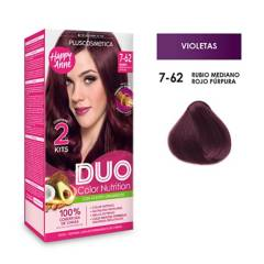 DUO COLOR - Duo Tinte 7-62 Rubio Med Rojo P