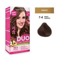 DUO COLOR - Duo Tinte 7-4 Rubio Habano35