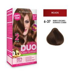 DUO COLOR - Duo Tinte 6-37 Rubio Osc Dorado
