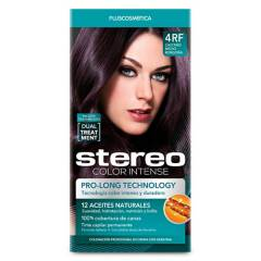 STEREO - Stereo Color 4Rf Castaño Med Borgoñ