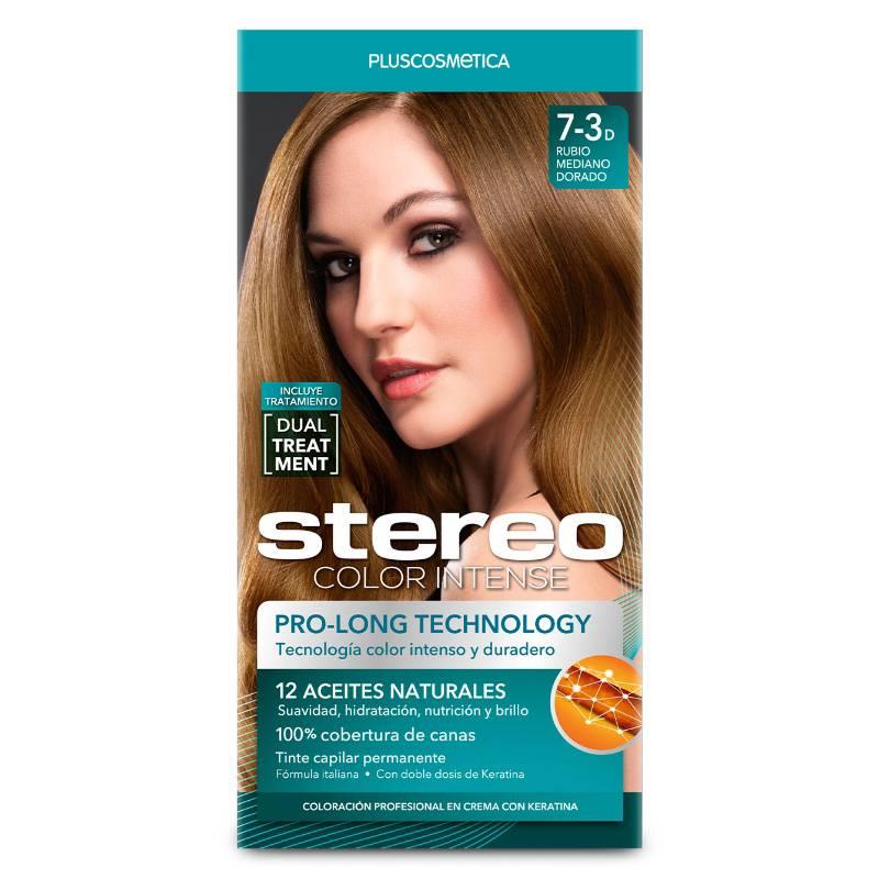STEREO - Stereo Color 7-3D Rubio Med Dorado