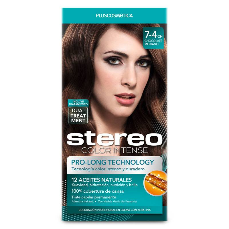 STEREO - Stereo Color 7-4Ch Chocolate Median