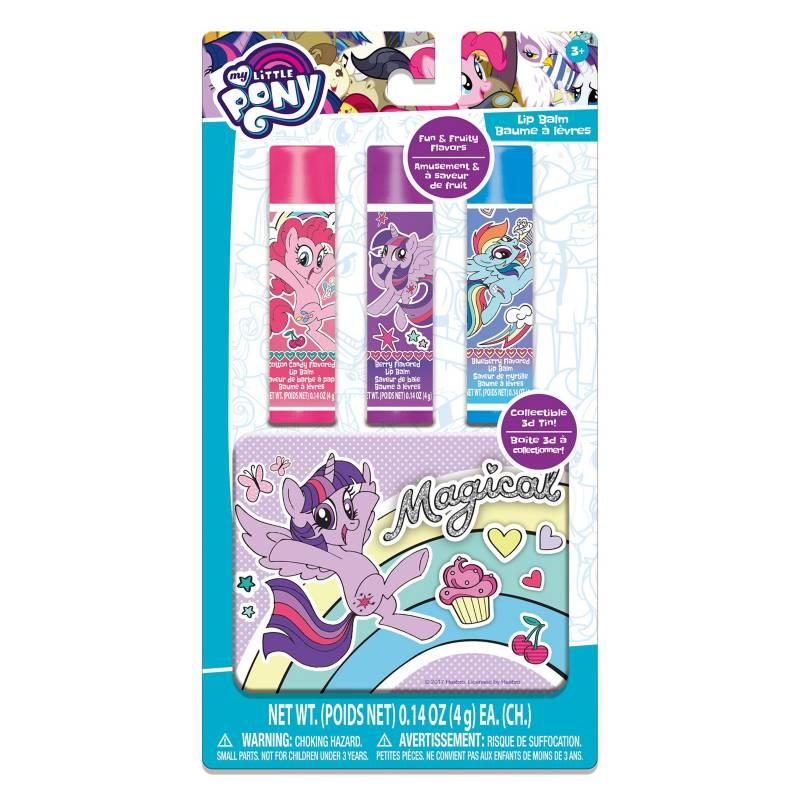 TOWNLEYGIRL - Pack x 3 Brillo Labial en Lata Pony