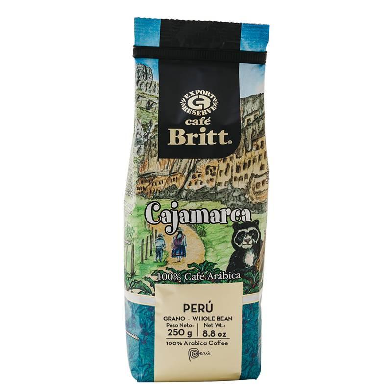 BRITT - Café en Grano Cajamarca 250 Gr