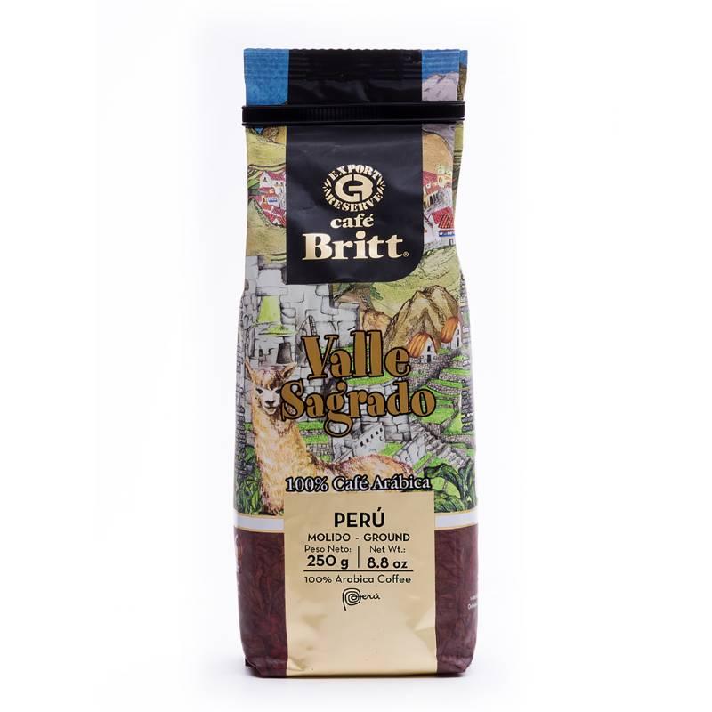 BRITT - Café Molido Valle Sagrado 250 Gr