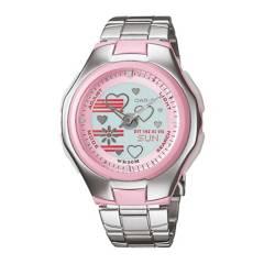CASIO - Reloj Analógico y Digital Mujer LCF-10D-4A CASIO