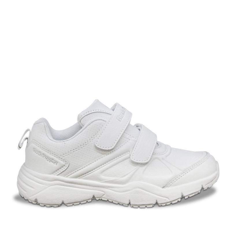 HUSH PUPPIES - Zapatillas Runner 2 Velcros Blanco