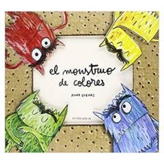 IBERO - El monstruo de colores, un libro pop-up