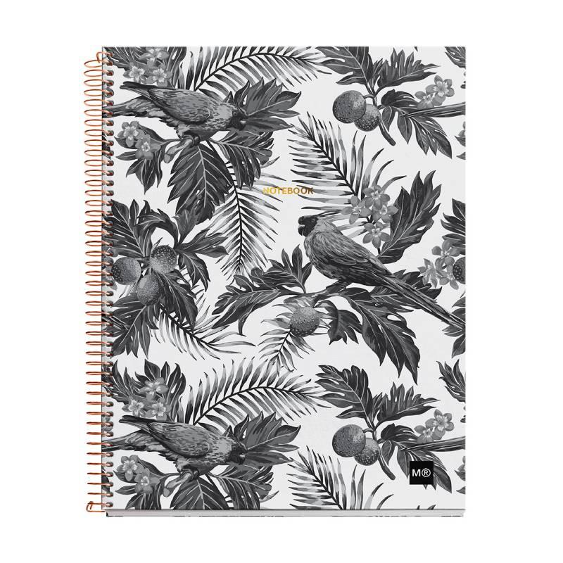 MIQUELRIUS - Cuaderno Black & White Rayado A4