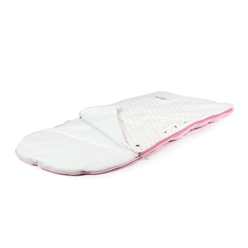 MATERNELLE - Sleeping Bag Bebé Rosado Niña