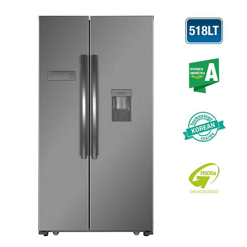 DAEWOO - Refrigeradora Side by Side 518L FRS-518HCSD