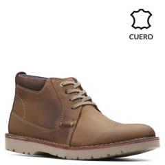 CLARKS - Zapatos Casuales Hombre Clarks Vargo Mid