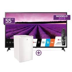 """Smart TV 4K UHD 55"""" 55UM7100 + Control Magic + Friobar RI-100BL"""