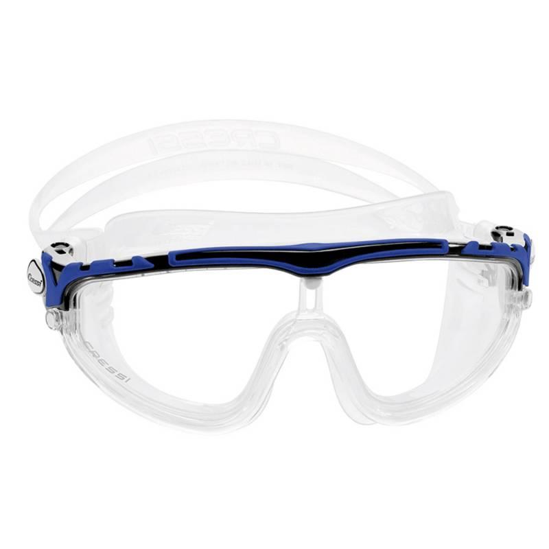 CRESSI - Lentes de natación Skylight transp negro/azul