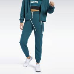 REEBOK - Pantalón Mujer Jogger Te textured logo pant