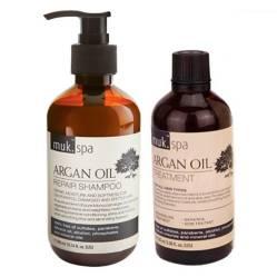 muk Haircare - Duo Shampoo y Tratamiento Aceite de Argán