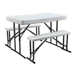 NORTHWEST - Set de picnic bancas y mesas plegables