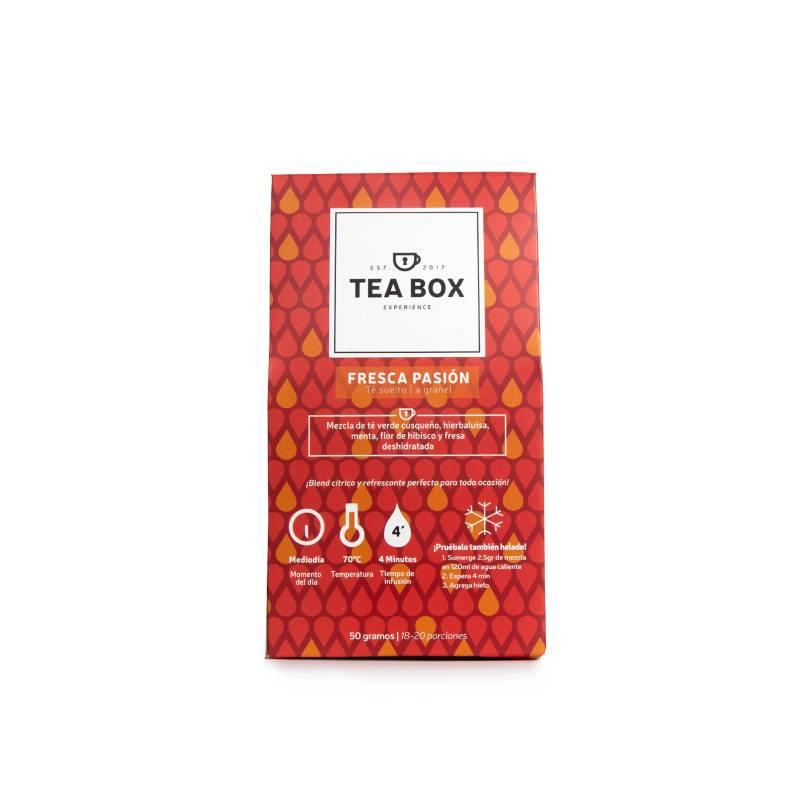 Tea Box Experience - Sobre Fresca Pasión Té granel