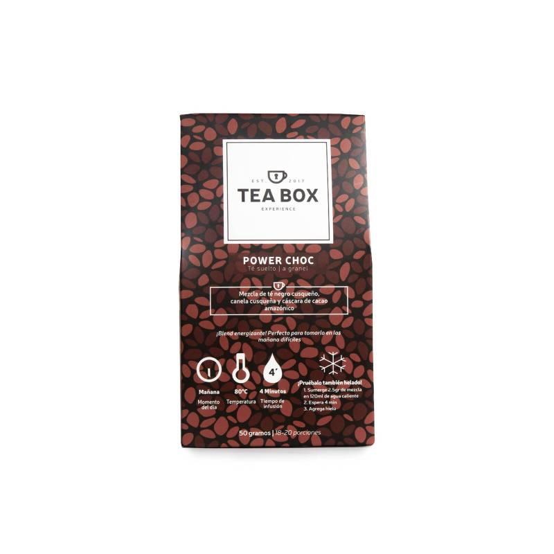 Tea Box Experience - Sobre Power Choc Té granel