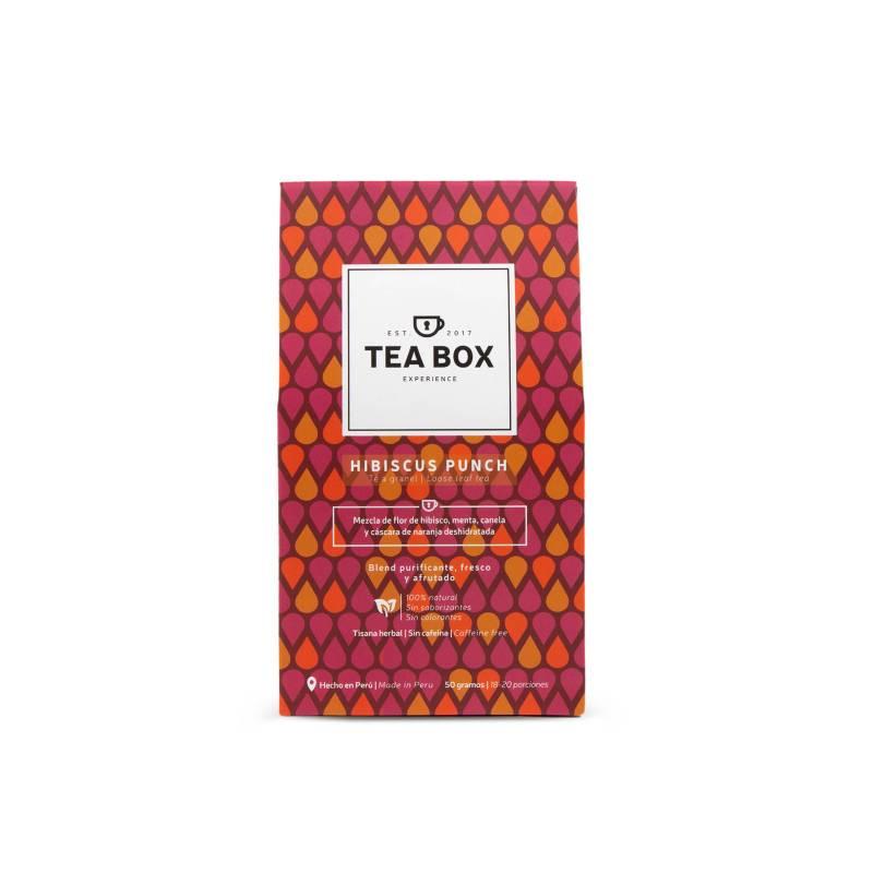 Tea Box Experience - Sobre Hibiscus Punch Té granel