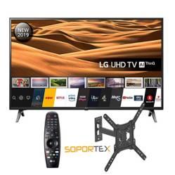 "Televisor LED Smart TV 4K Ultra HD 43"" 43UM7100MR + Magic + Rack LPA50-41"
