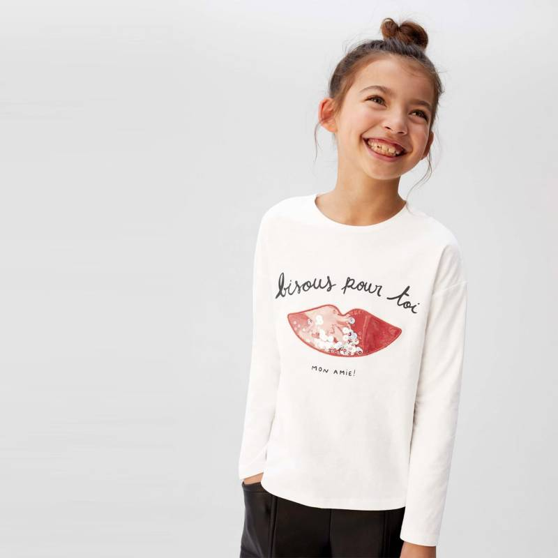 MANGO KIDS - Camiseta Bisous