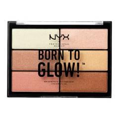 NYX Professional Makeup - Paleta Born to Born Highlighting Palette NYX