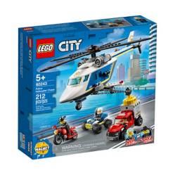 LEGO - Persecucion Policial Del Helicóptero