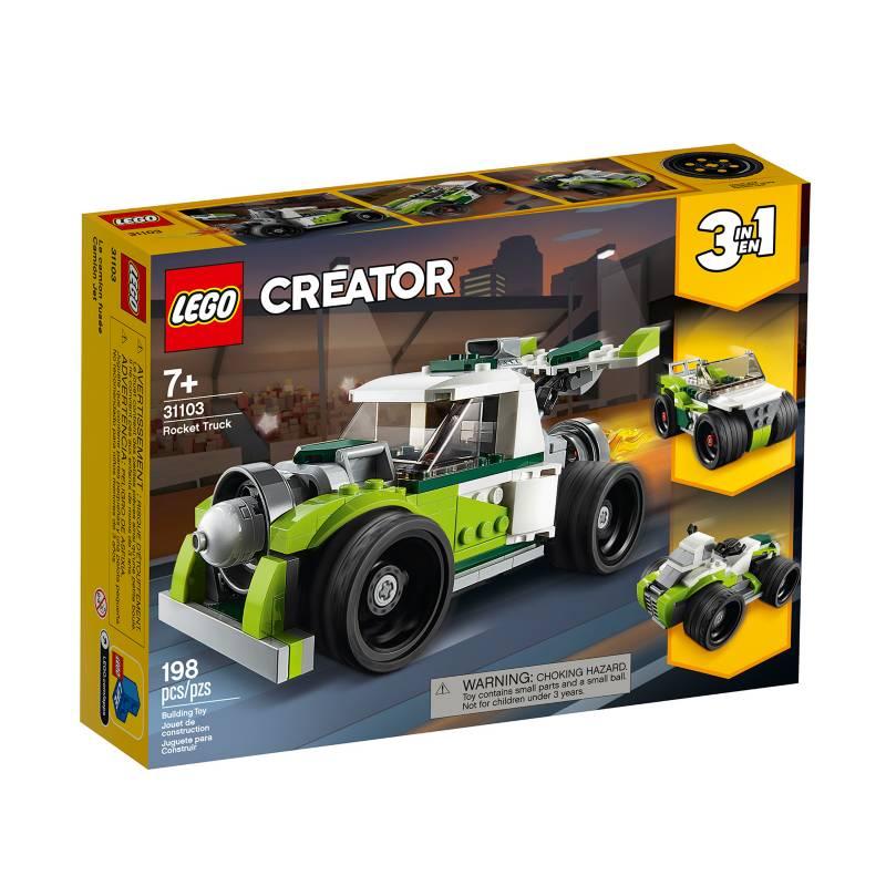 LEGO - Camión Cohete