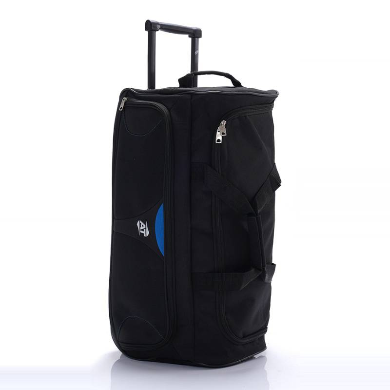 AMERICAN TOURISTER - Strong Wheeled Duffel Black/Blue