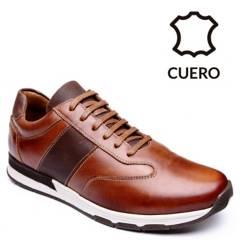 CHRISTIAN LACROIX - Zapatos Hombre Christian Lacroix Bufalo Tostado