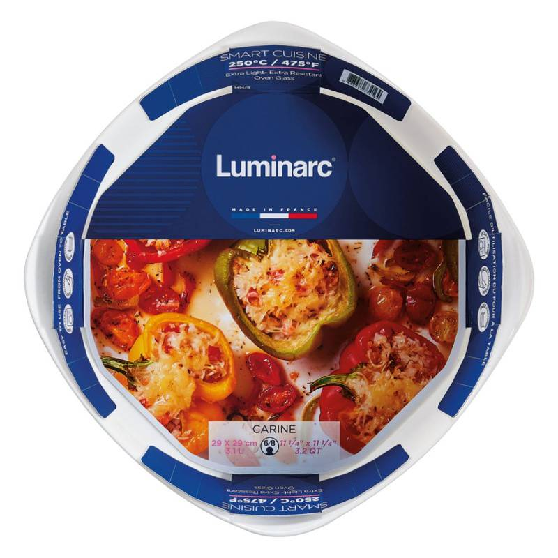 LUMINARC - Fuente Cuadrada para Horno 29x29cm Smart Cuisine