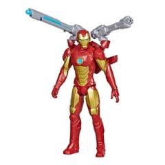 AVENGERS - Figura Titan Hero Series Blast Gear Iron Man