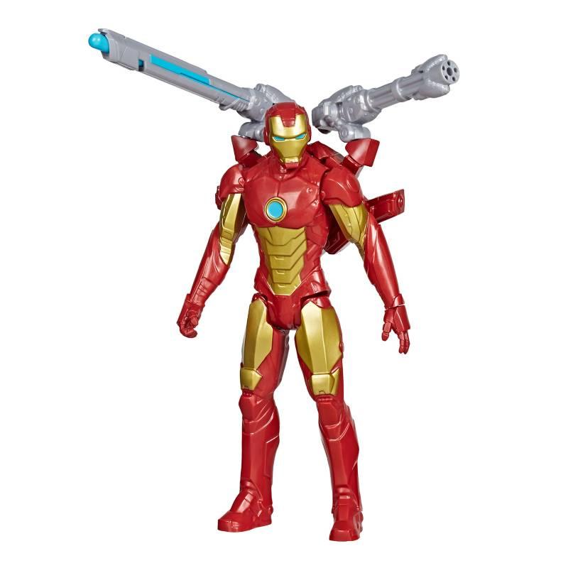 AVENGERS - Figura Titan Hero Series Blast Gear Iron Man
