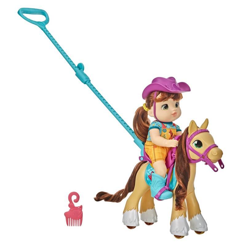 BABY ALIVE - Muñeca Paseo En Pony con Accesorios