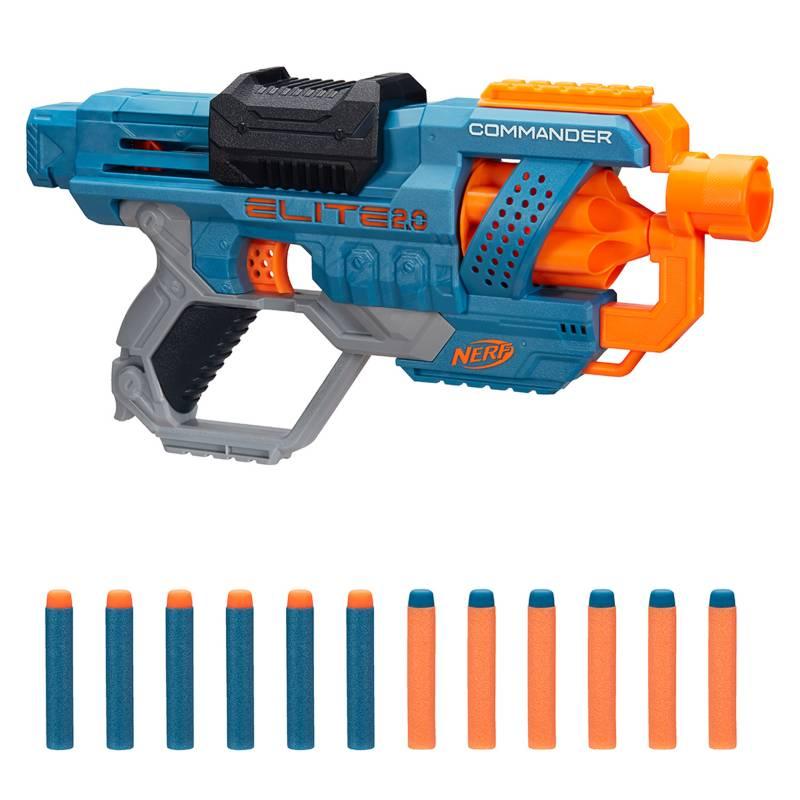 NERF - Lanzador Elite 2.0 Commander RD 6