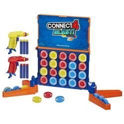 HASBRO GAMES - Juego de Mesa Connect 4 Blast