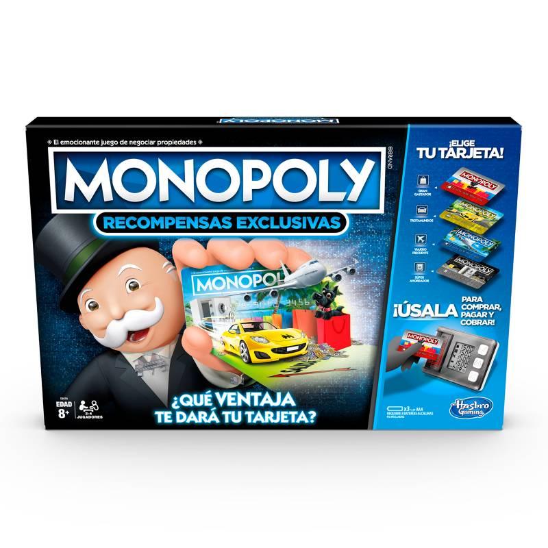 HASBRO GAMES - Monopoly Recompensas Exclusivas
