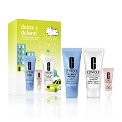 CLINIQUE - Set Clinique Detox Mascarilla de Carbón