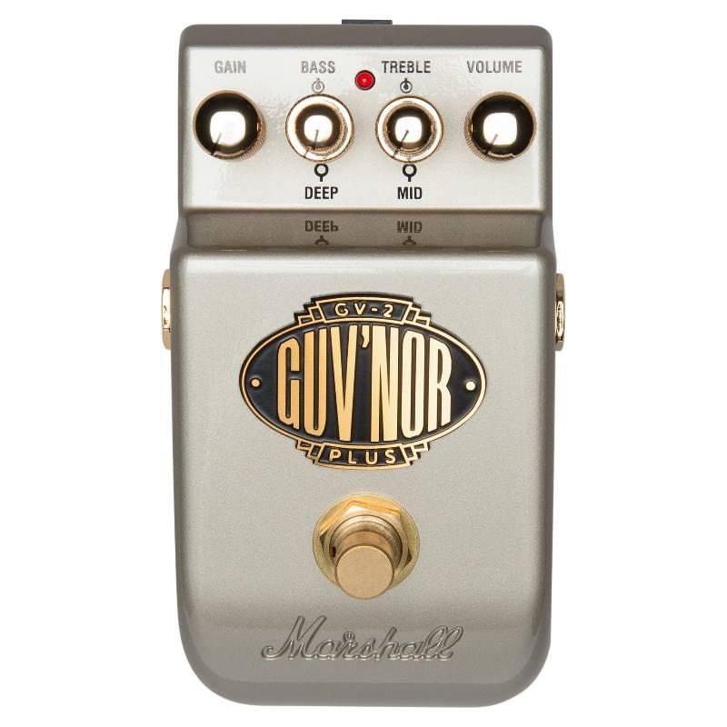 MARSHALL - Pedal Para Guitarra Guv Nor Plus (Gv-2)