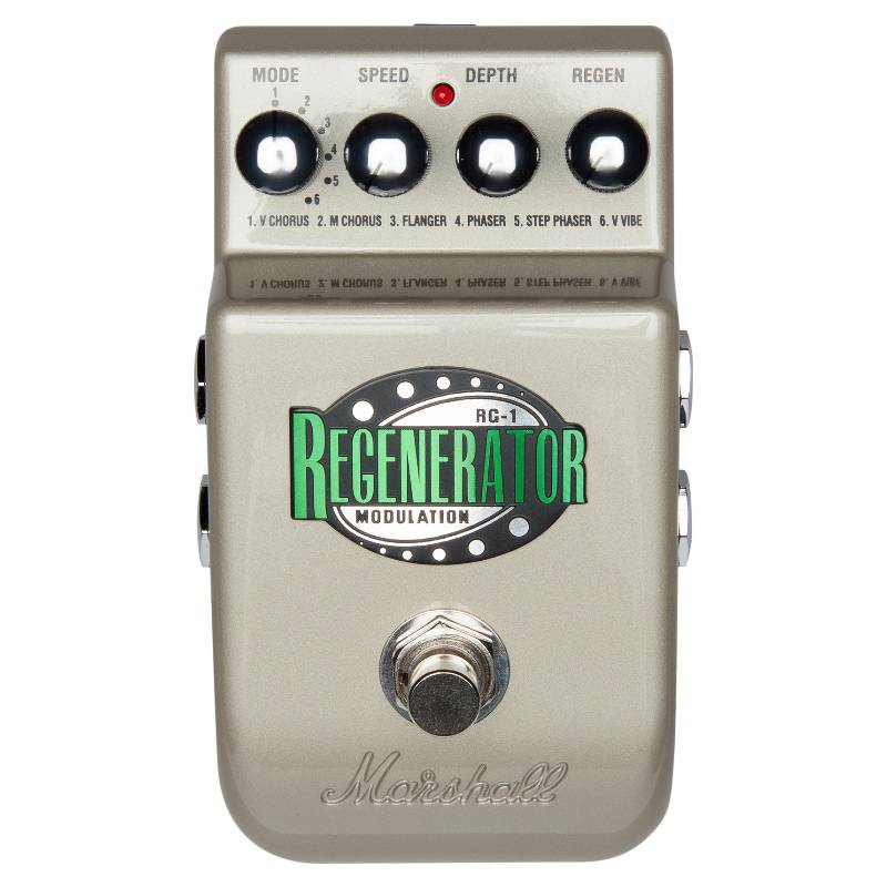 MARSHALL - Pedal Para Guitarra The Regenerator (Rg-1)