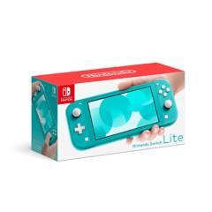 NINTENDO - Consola Nintendo Switch Lite Turquesa 32 GB