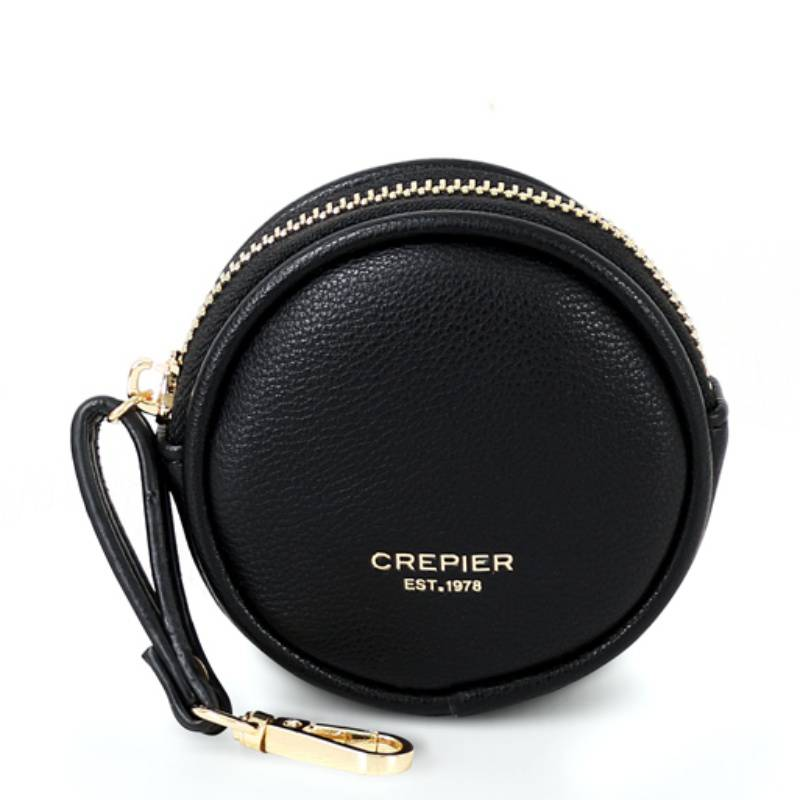 CREPIER - Monedero Crepier Agnone S/Trj Negro