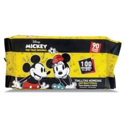 MICKEY - Toallitas Húmedas Mickey x 100 Unidades