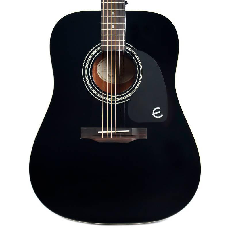 EPIPHONE - Guitarra Acustica De Metal Pro-1 Negra